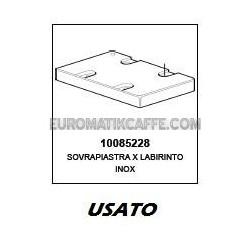 SOVRAPIASTRA PER LABIRINTO (USATO) LAVAZZA INOX EP 95 - EP 2100 PININFARINA