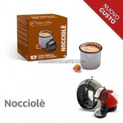 """16 CAPSULE """" ITALIAN COFFE """" COMPATIBILI DOLCE GUSTO """" CAFFE NOCCIOLA """""""