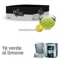 """25 capsule """" Te Verde Al limone Zuccherato """"  che Maraviglia by Ristora"""