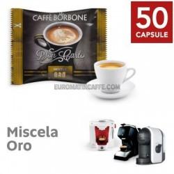 50 CAPSULE BORBONE DON CARLO MISCELA ORO