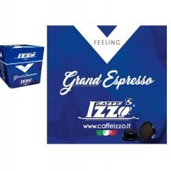 """100 CAPSULE A MODO MIO """" CAFFE IZZO """" GRAND ESPRESSO"""