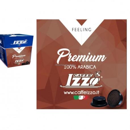 """150 CIALDE ESE 44mm """" CAFFE IZZO"""" PREMIUM 100% ARABICA"""