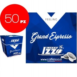 "50 CIALDE ESE 44mm "" CAFFE IZZO "" GRAND ESPRESSO"