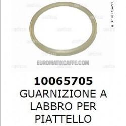 GUARNIZIONE TRASPARENTE A LABBRO PER PIATTELLO LF 400 - LF 400 MILK