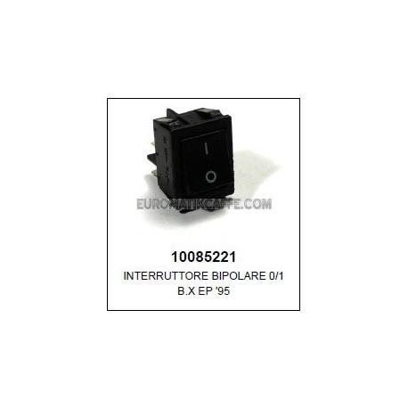 INTERRUTTORE BIPOLARE 230V ( USATO ) LAVAZZA EP 95 - EP 2100 - MATINè