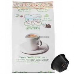 """16 CAPSULE CAFFE GATTOPARDO PER DOLCE GUSTO  """" INSONNIA """""""