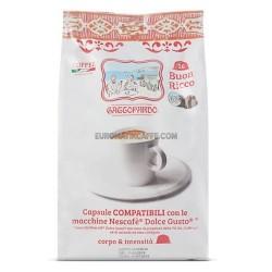 16 CAPSULE CAFFE GATTOPARDO TO.DA. RICCO