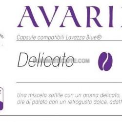 """CAFFE """"AVARIZIA """"CAPSULE COMPATIBILI LAVAZZA BLUE E IN BLACK"""
