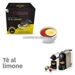 "10 CAPSULE THE LIMONE COMPATIBILI NESPRESSO ""ITALIAN COFFEE"""
