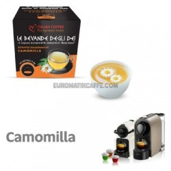 """10 CAPSULE CAMOMILLA COMPATIBILI NESPRESSO """"ITALIAN COFFEE"""""""