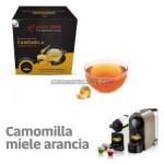 """10 CAPSULE CAMOMILLA MIELE E ARANCIA COMPATIBILI NESPRESSO """"ITALIAN COFFE"""""""