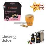 """10 CAPSULE CAFFE AL GINSENG DOLCE COMPATIBILI NESPRESSO """"ITALIAN COFFE"""""""