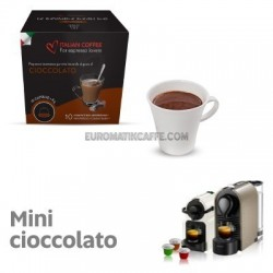 """10 CAPSULE MINI CIOCCOLATO COMPATIBILI NESPRESSO """"ITALIAN COFFE"""""""