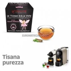 """10 CAPSULE INFUSO TISANA PUREZZA COMPATIBILI NESPRESSO """"ITALIAN COFFE"""""""