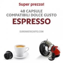"""48 CAPSULE CAFFE ESPRESSO """" ITALIAN COFEE """""""