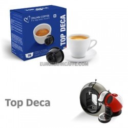 """16 CAPSULE """" ITALIAN COFFE """" COMPATIBILI DOLCE GUSTO """" CAFFE DEKAFFEINATO """""""