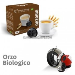 """16 CAPSULE """" ITALIAN COFFE """" COMPATIBILI DOLCE GUSTO """" ORZO BIOLOGICO """""""