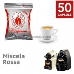 50 CAPSULE RESPRESSO BORBONE MISCELA RED - X NESPRESSO