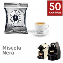 50 CAPSULE RESPRESSO BORBONE MISCELA NERA - X NESPRESSO