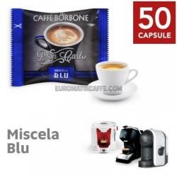 50 CAPSULE BORBONE DON CARLO MISCELA BLU