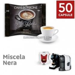 50 CAPSULE BORBONE DON CARLO MISCELA NERA