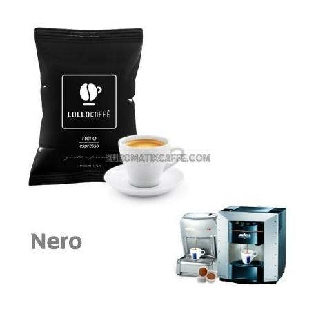 100 CAPSULE LOLLO CAFFE GUSTO NERO ESPRESSO