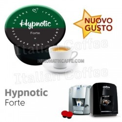 50 cialde capsule Italian Coffee Hypnotic compatibili Lavazza Blue e In Black Nims