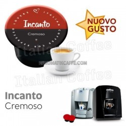 50 cialde capsule Italian Coffee Incanto compatibili Lavazza Blue e In Black Nims