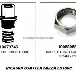 RACCORDO TUBO VAPORE + DADO LAVAZZA BLUE LB 1000 USATO
